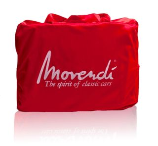 Movendi Car Cover Satin Red 380x165x115cm