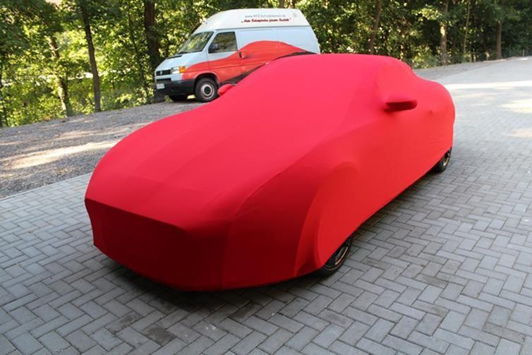 INNEN SCHUTZH/ÜLLE ABDECKPLANE SCHUTZDECKE VOLLGARAGE Cover X150 AUTOABDECKUNG GRAU PASSEND F/ÜR Jaguar XK Cabrio