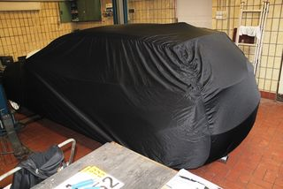Car-Cover Satin Black for BMW 1er F20 Lomousine