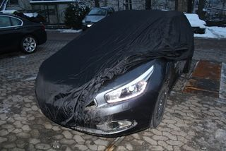 Car-Cover anti-freeze with mirror pockets for Kia Cee´d