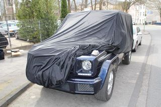 Car-Cover Satin Black für Mercedes G-Modell lang