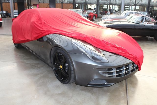 movendi car cover satin red f r ferrari ff. Black Bedroom Furniture Sets. Home Design Ideas