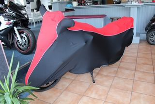 Perfect tailored motorcycle protective cover with mirror pockets for Suzuki Bandit 1200S
