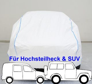 Tyvek Summer Car-Cover - 415x172x170cm.