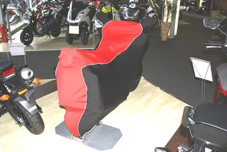 Perfect tailored motorcycle protective cover with mirror pockets forHonda CBF125