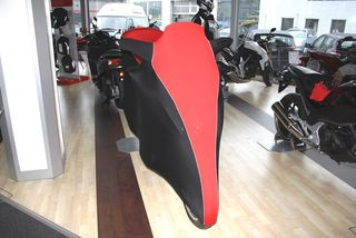 Perfect tailored motorcycle protective cover with mirror pockets for Honda Integra