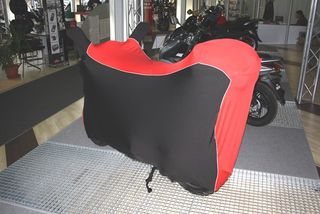 Perfect tailored motorcycle protective cover with mirror pockets for Honda Vision50