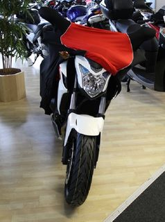 Perfect tailored motorcycle protective cover with mirror pockets for Honda CB500F