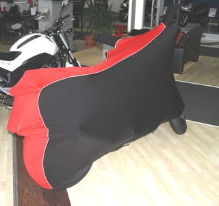 Perfect tailored motorcycle protective cover with mirror pockets for Honda NC700S