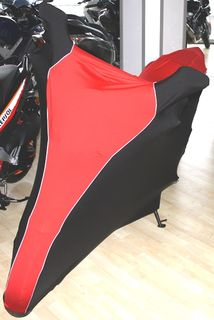 Perfect tailored motorcycle protective cover with mirror pockets for Honda Hornet