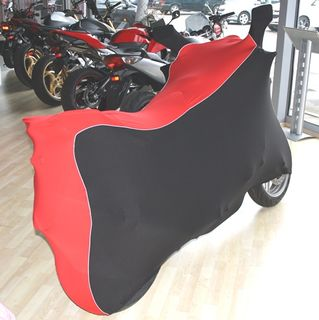 Perfect tailored motorcycle protective cover with mirror pockets for Honda CBF 600N