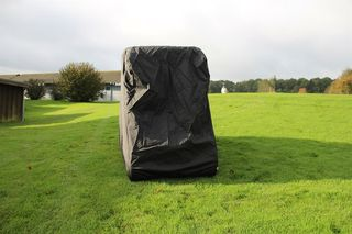 Black 300D Cover for Golf-Cart 250x125x165 cm.
