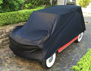 Car-Cover Satin Black for Fiat 500 Jolly car