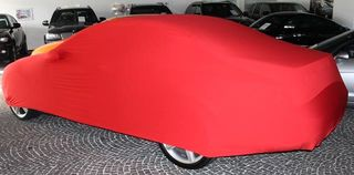 Red AD-Cover ® Mikrokontur with mirror pockets for Mercedes CL-Klasse