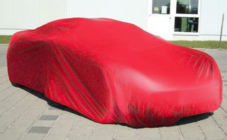 Car-Cover Satin Red für Lotus Elise S3