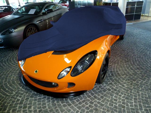 Vollgarage Mikrokontur Blau Für Aston Martin Db109