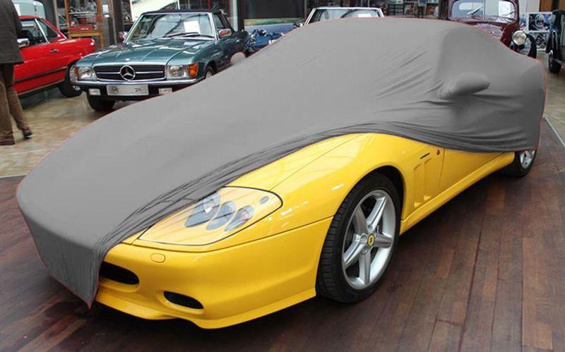 Graues Ad Cover Für Ferrari 575 Maranello Superamerica
