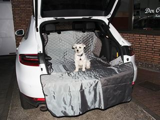 Trunkcover for pets Coperta Grey
