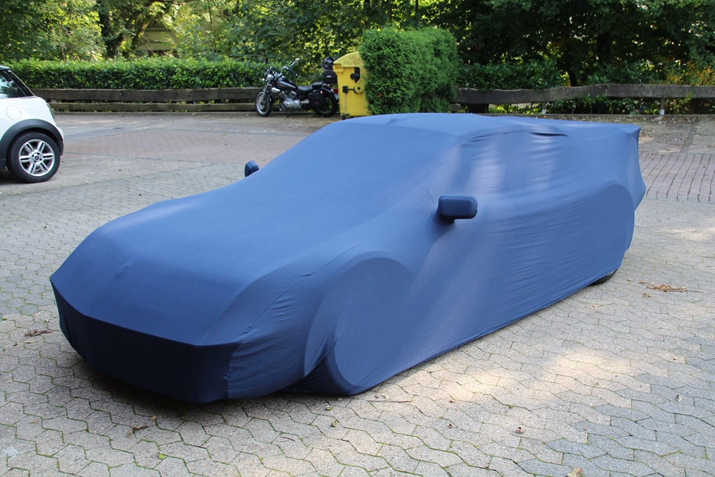 Blaues Car-Cover für Alpine A310 Pack GT